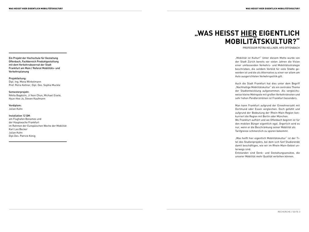HfG Offenbach - Interkulturelles Design