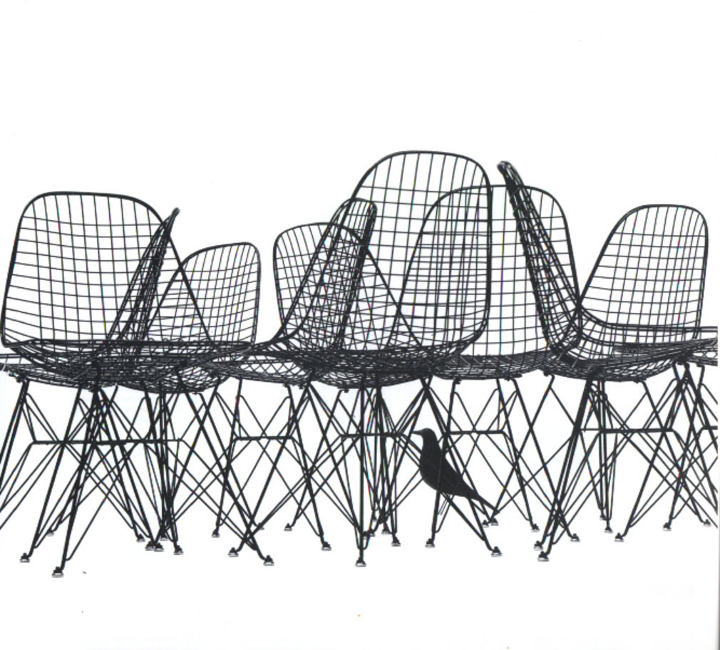 Hfg offenbach designgeschichte for Kopie eames chair