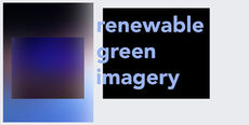 Renewable green imagery