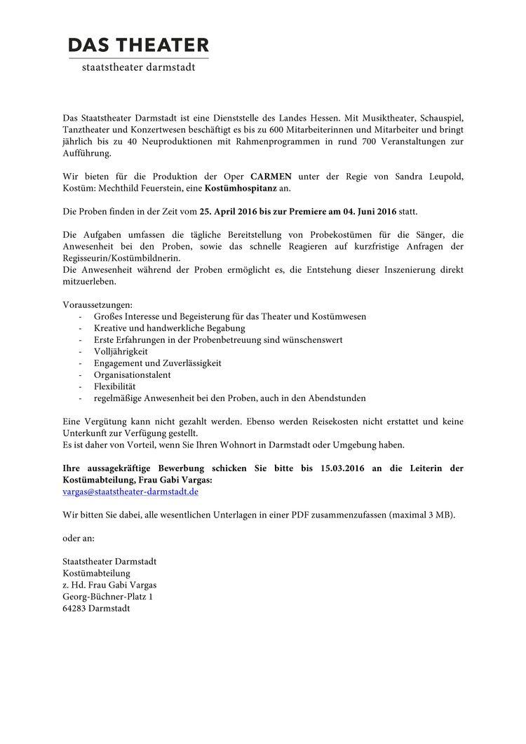 hfg offenbach - Aussagekraftige Bewerbung