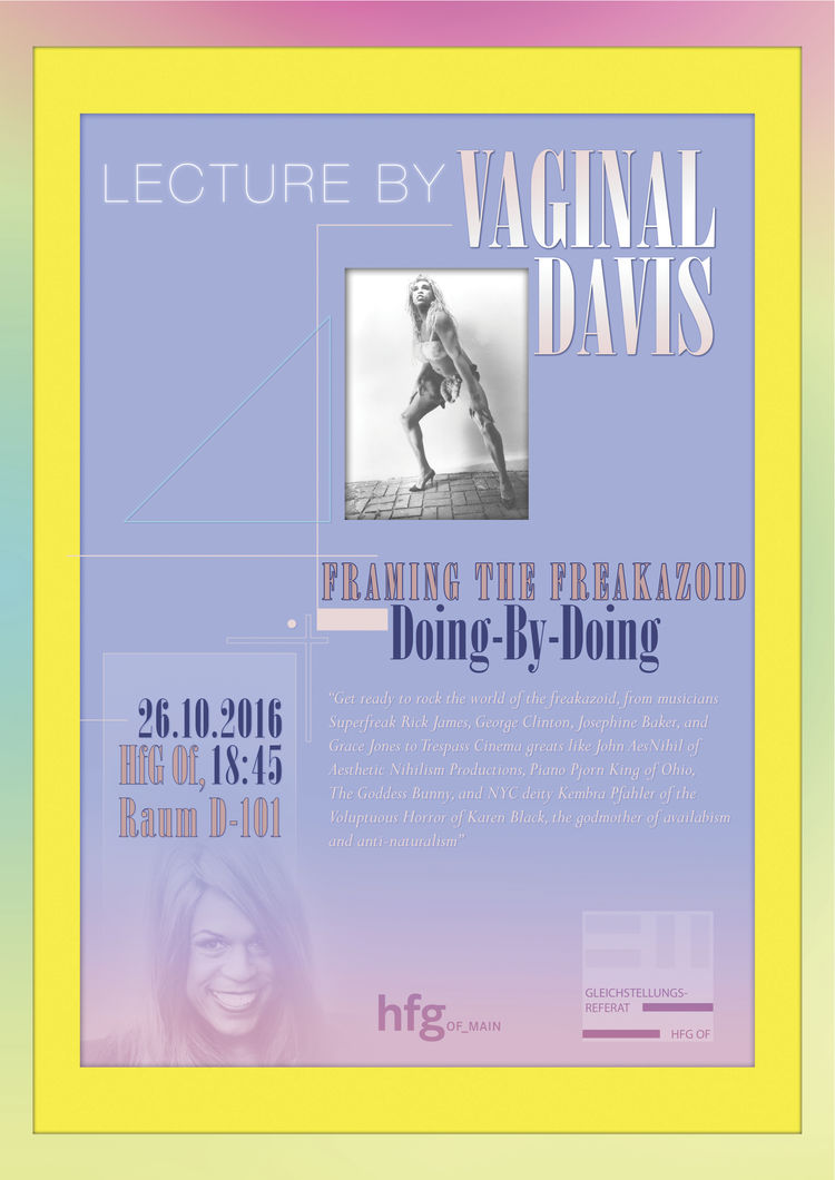 HfG Offenbach - Lecture & Workshop by Vaginal Davis