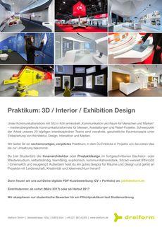 Hfg offenbach jobb rse for Interior design praktikum