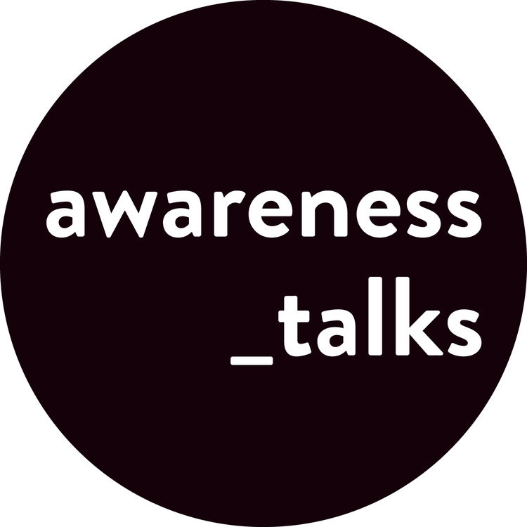 Awareness talks schwarz 50prz weiss