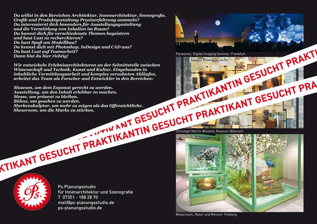 Innenarchitektur Und Szenografie hfg offenbach praktikant in gesucht für innenarchitektur und