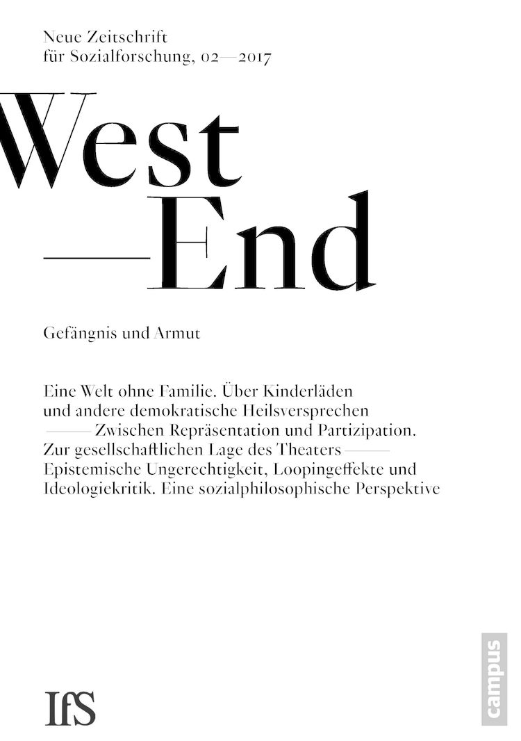 Westend cover 2 2017