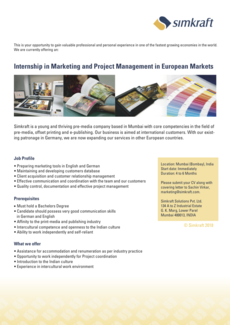 Marketing projectmanagement ss18