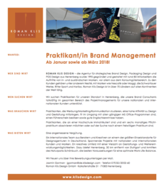 Praktikum brand management