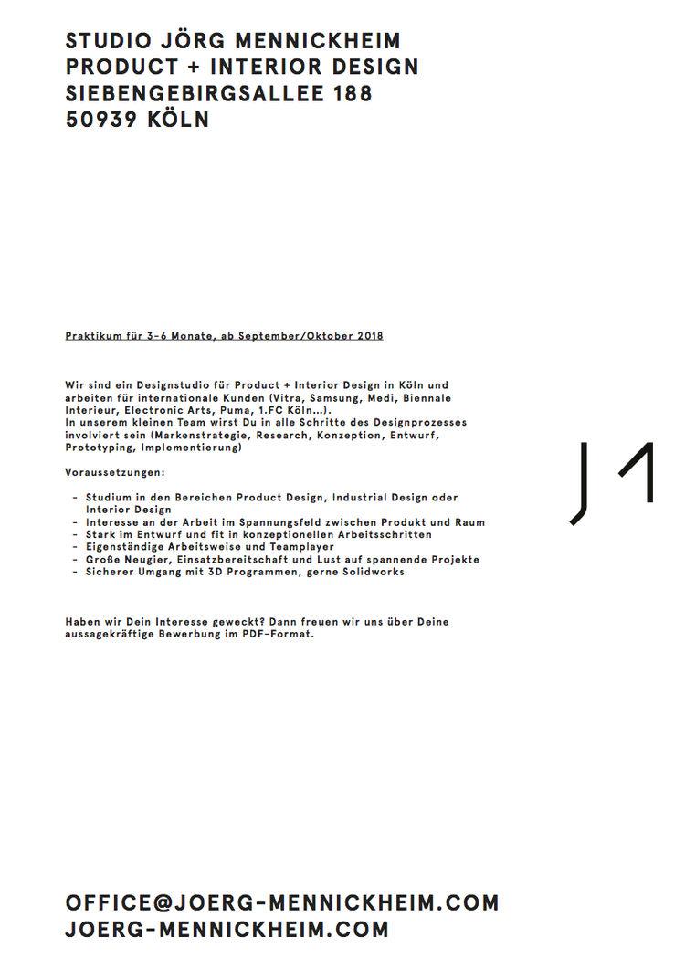 HfG Offenbach - Praktikum: Product Design, Industrial Design oder ...