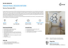 Hyve industrial design intern sm19