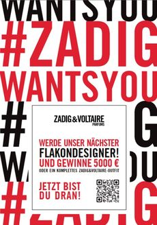 Zadig voltaire wants you flyer