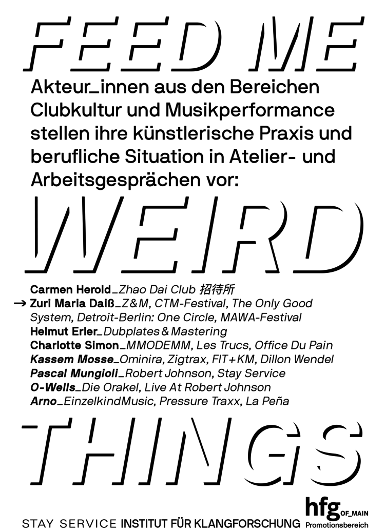 Feed me weird things flyer v10